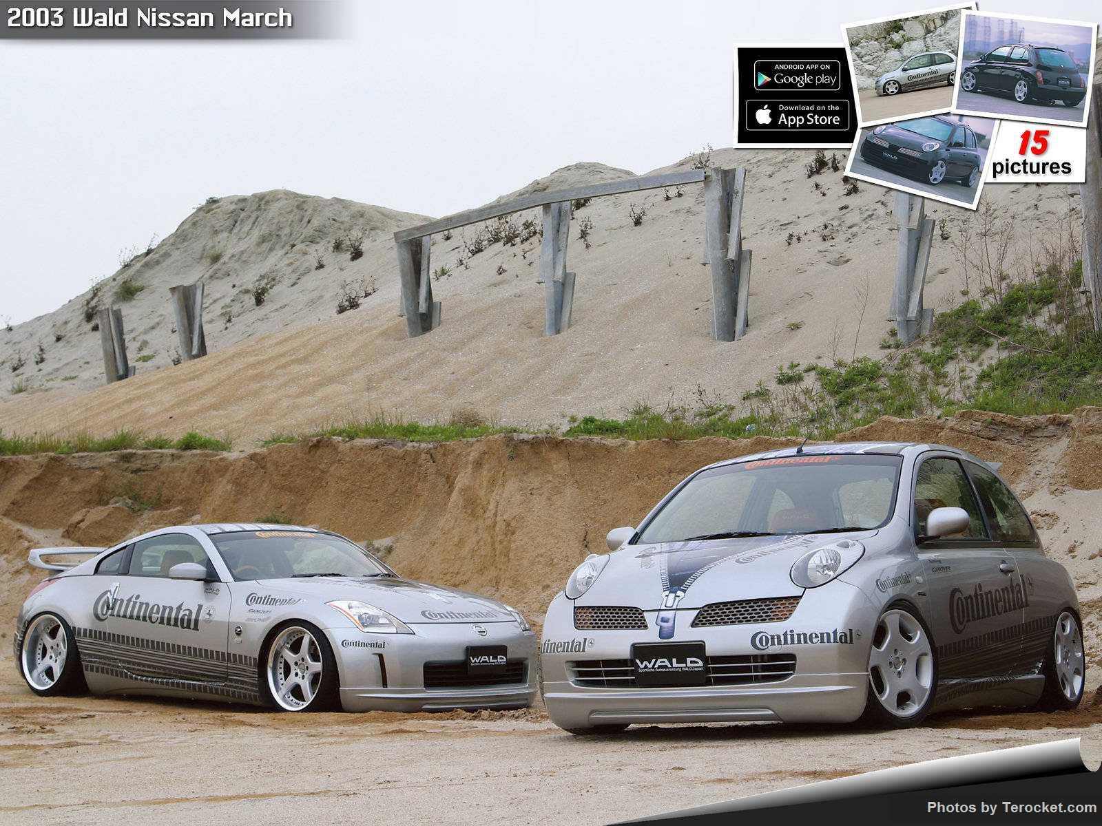 Hình ảnh xe độ Wald Nissan March 2003 & nội ngoại thất