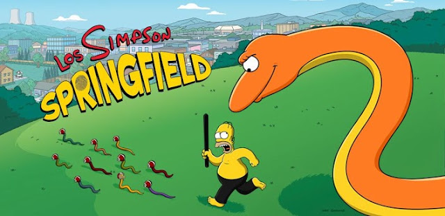 Los Simpson Springfield para Tablet y Movil Android Gratis
