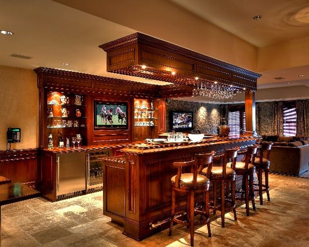 Awesome Etnic Home Bar