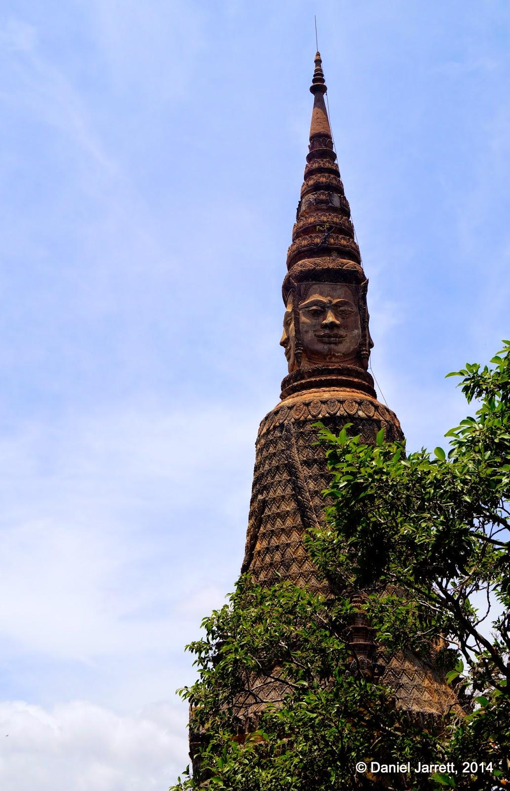 Mak Proum, Phnom Oudong, Cambodia