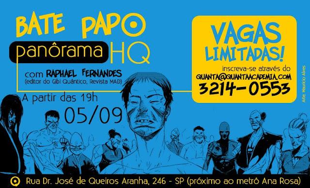 Bate Papo na Quanta - Panôrama HQ com Raphael Fernandes