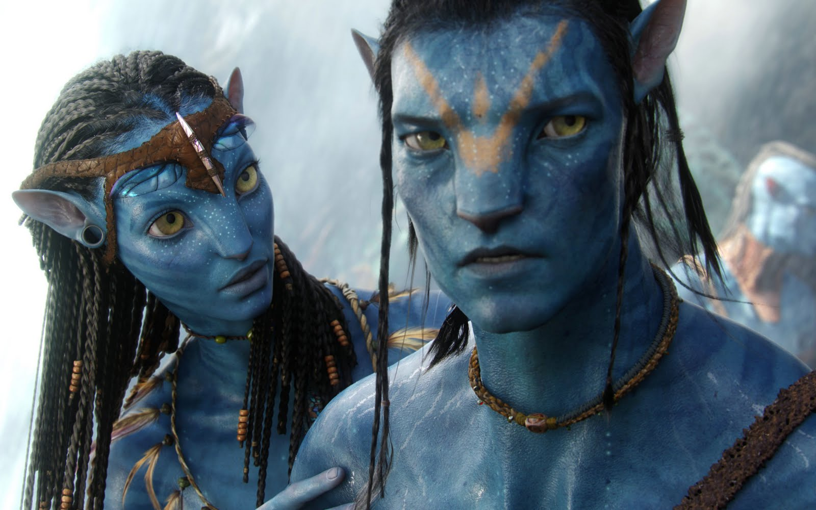 Neytiri and Jake Sully