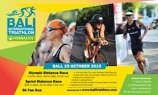 Bali International Triathlon 2015