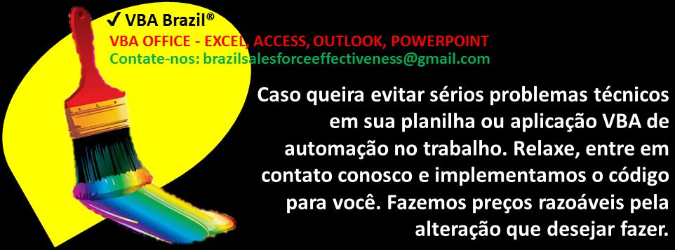 ✔ VBA Brazil®