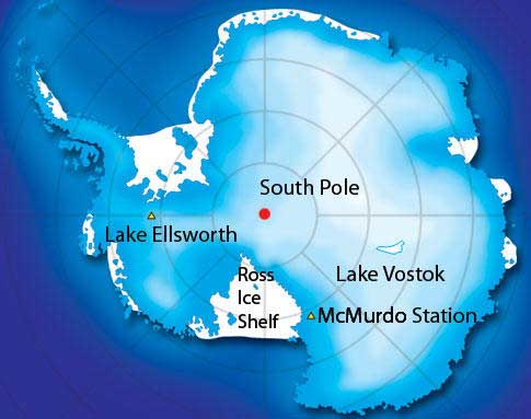 Deepest Lakes In The World Lake Vostok (Antarctica)