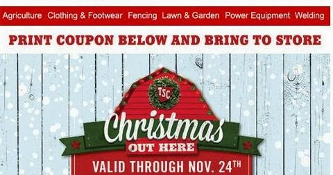 photo about Printable Tractor Supply Coupon titled Tractor Provide 10 % coupon - Bj discount coupons subscription