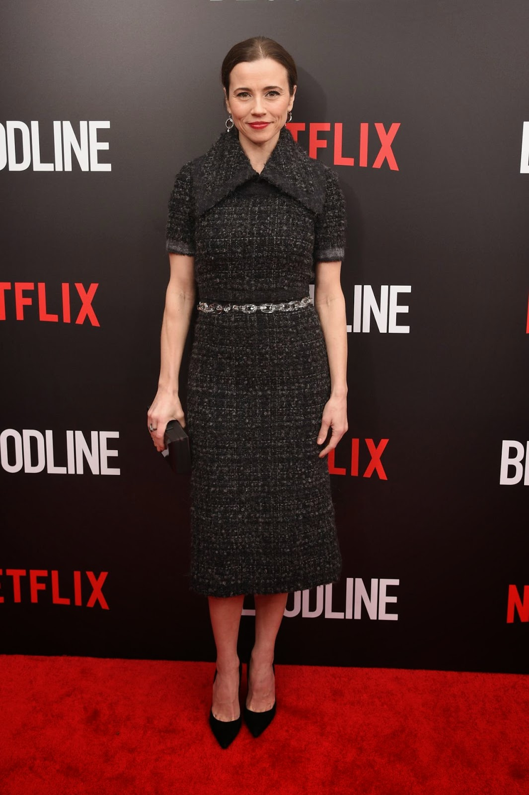 Actress @ Linda Cardellini - 'Bloodline' New York Series Premiere in NYC