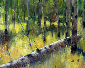 """Toppled Aspen"" - for sale - Contact Waren"