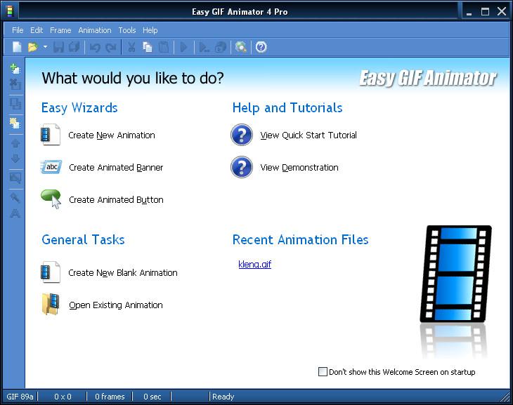 easy gif animator | Infinity Software