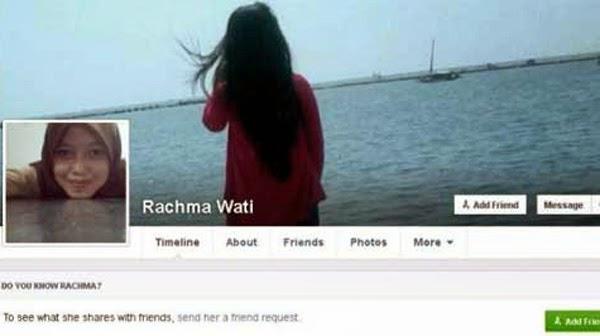 Status Facebook Rachma Wati : Doakan AirAsia QZ 8501 tak Ditemukan
