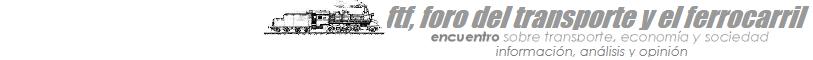 ftf, foro del transporte y el ferrocarril
