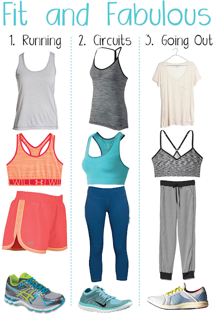 Fit and Fabulous! Outfits to workout in and look great!