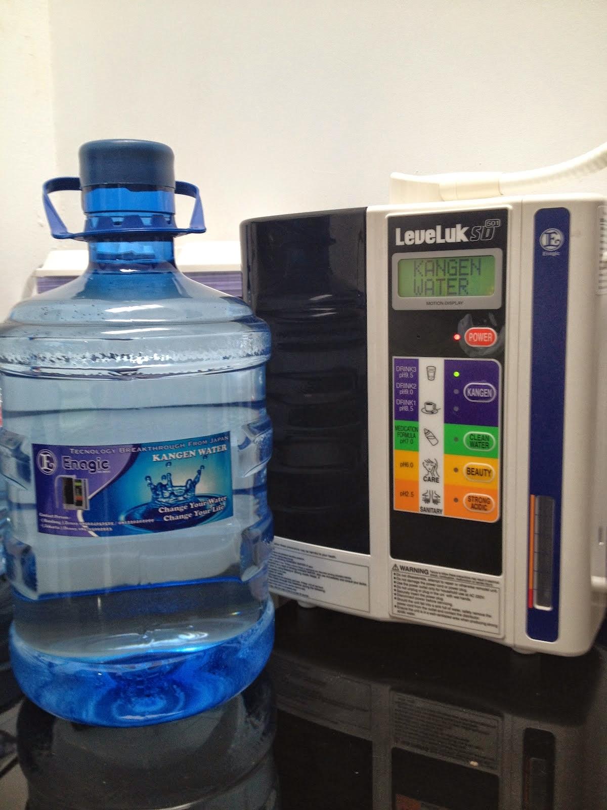 harga air kangen water