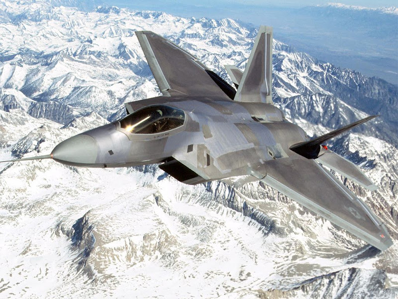 F-22 Raptor Advanced Fighter Aircraft