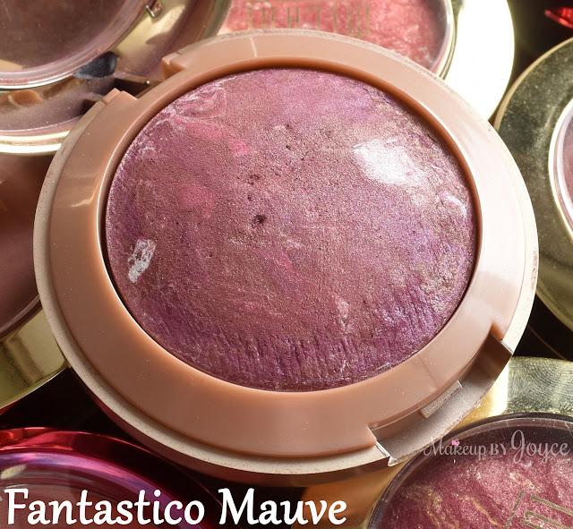 Milani Baked Blush Fantastico Mauve Swatch