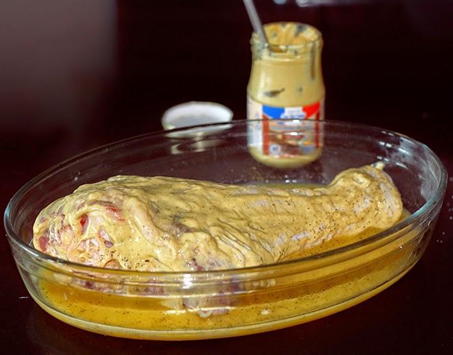 dijon mustard turkey leg recipe