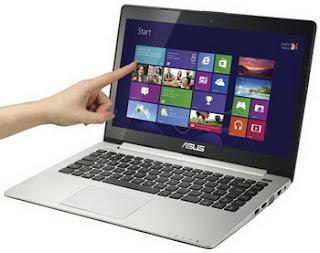 Asus VivoBook S400 Windows 8 Touchscreen Notebook