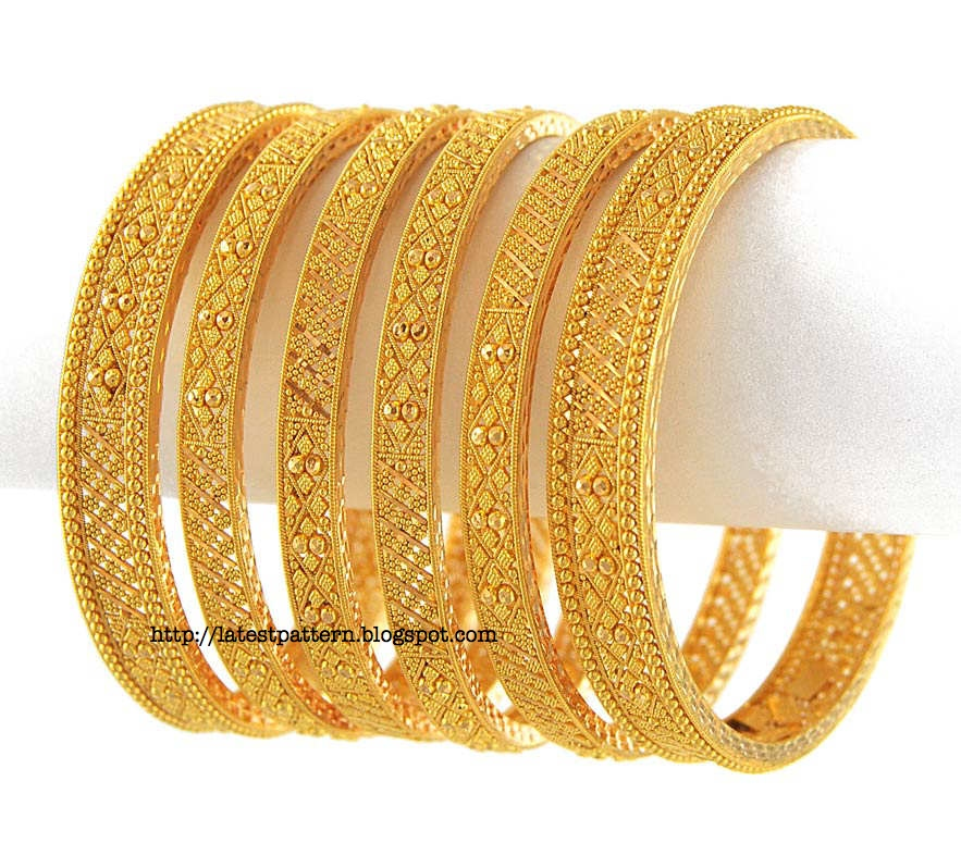 New Trends: Gold Bangles