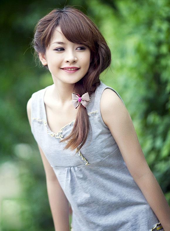 Ảnh gái xinh gái đẹp rất là cute 7