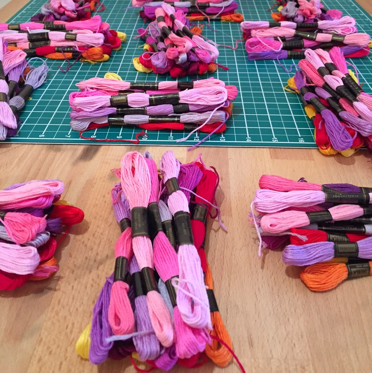 Pink Embroidery Floss