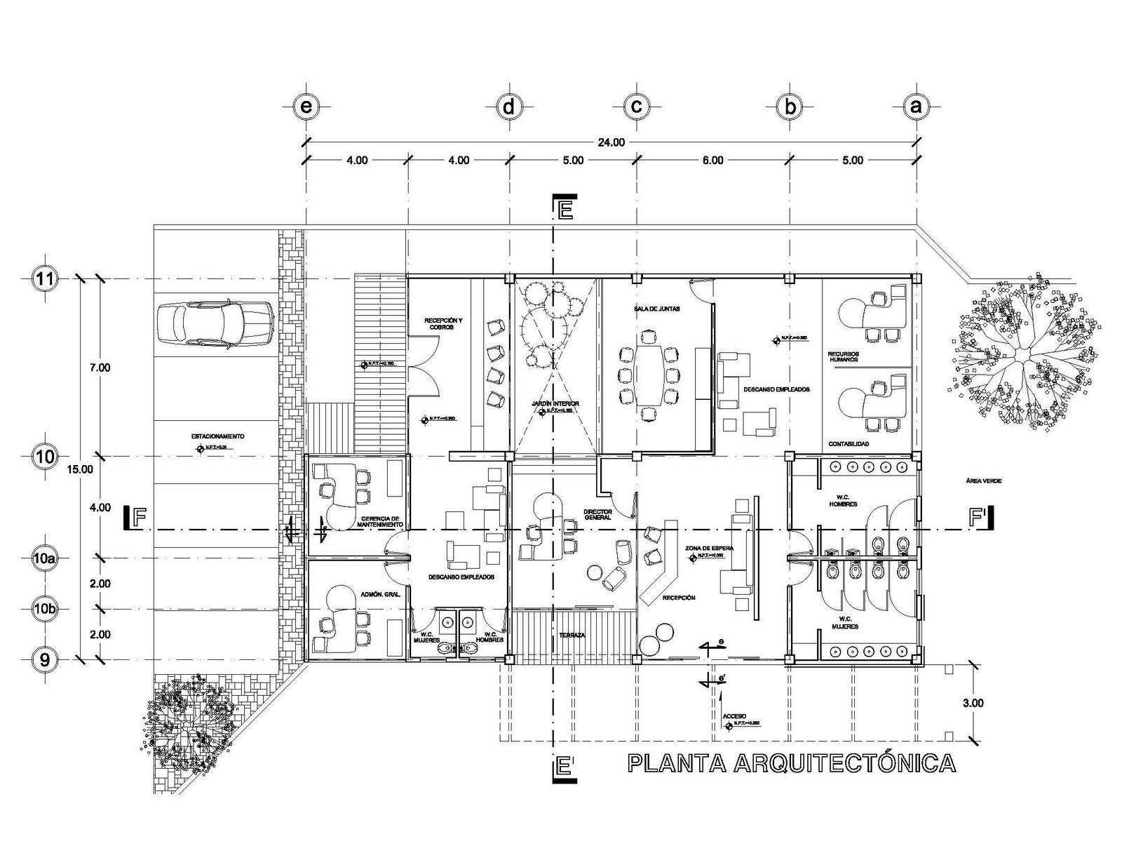 Planos arquitectonicos sena for Pie de plano arquitectonico pdf