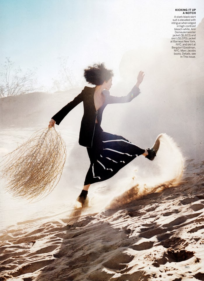 Edie Campbell HQ Pictures Vogue US Magazine Photoshoot March 2014