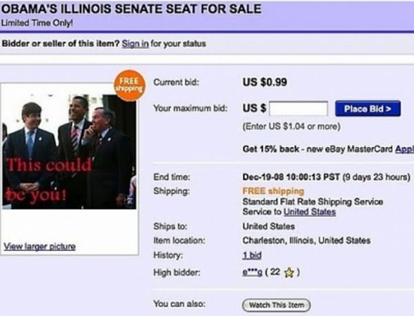 Funny And Strange eBay Auctions