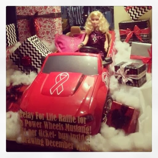 cassi selby relay for life power wheels raffle idea the perfect christmas fundraiser