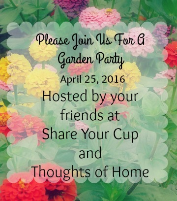 Come To A Garden Party