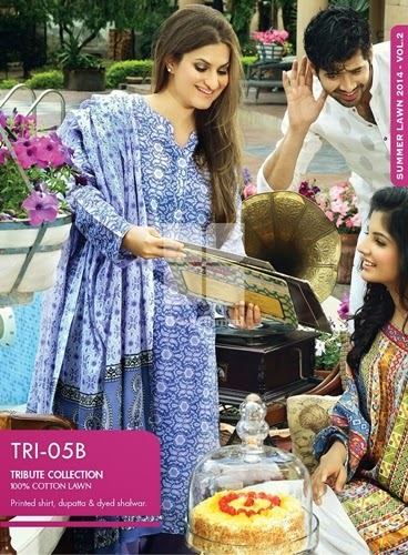 Gul Ahmed Mothers Day Collection 2014