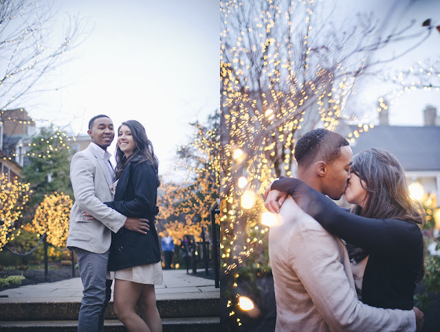 Princeton, engagement, photography, Christmas