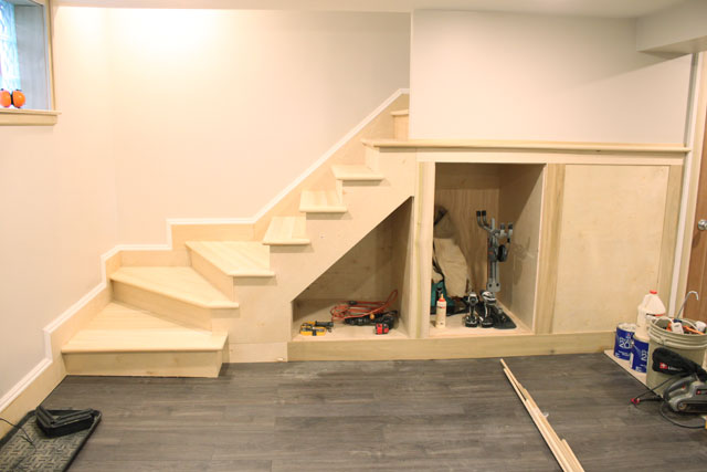 Painting Wood Basement Steps Danks And Honey