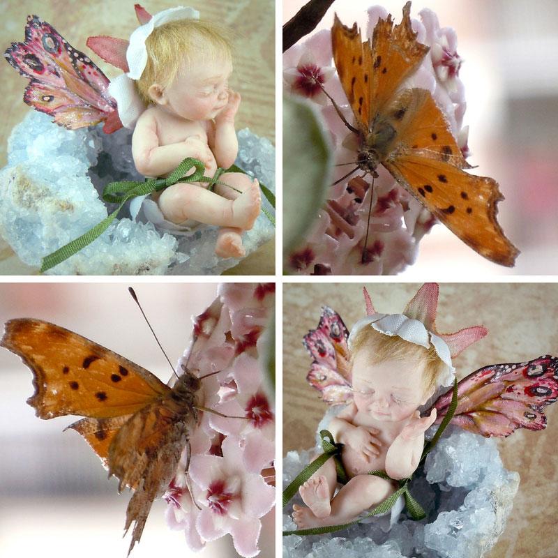 Baby Fatina ooak e Farfalla