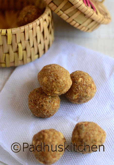 Oats laddu recipe how to make oats nuts ladoo balls padhuskitchen oats laddu forumfinder Image collections