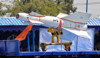 Picture of Iran's Qassad Smart Bomb
