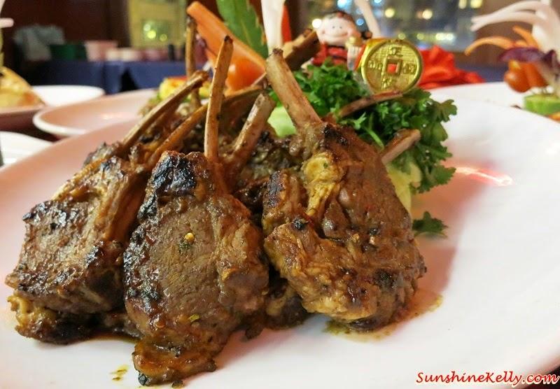 CNY 2015 Menu Review, Checkers Café, Dorsett Kuala Lumpur, Yee Sang, Dorsett Signature Lamb Chop