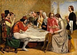 the Pre-Raphaelites - Isabella by Millais