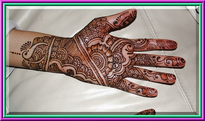Mehndi Patterns History : Mehndi designs book latest