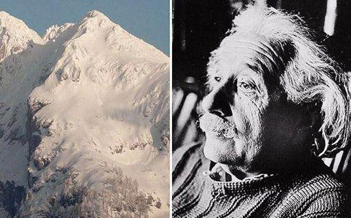 Wih, Gunung Ini Mirip Wajah Albert Einsten! [ www.BlogApaAja.com ]