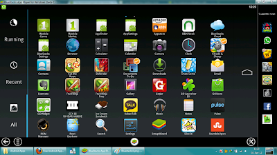 Phần mềm giả lập Android trên máy tính - BlueStacks