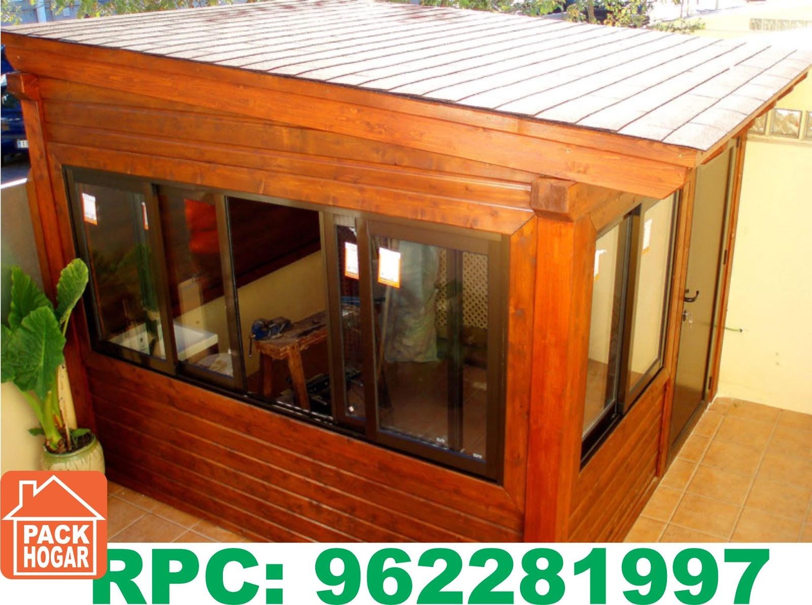 Casetas cuartos habitables prefabricadas de madera lima - Casetas de madera para terraza ...