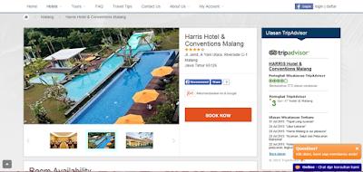 website resmi hotel