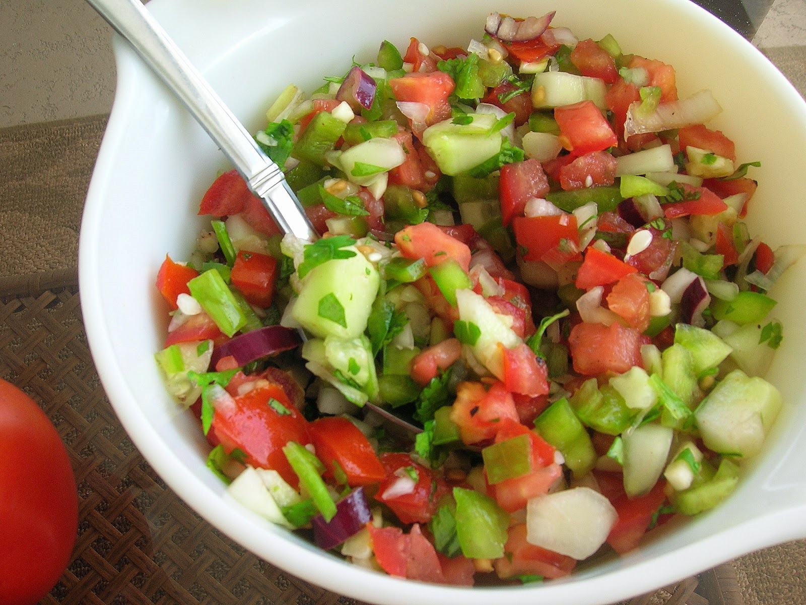 How to make homemade Pico De Gallo Mexican Sauce