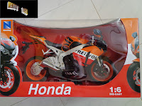IN STOCK NEW Die-cast Honda 1/6 Scale Repsol CBR 1000RR 2009 Race Bike