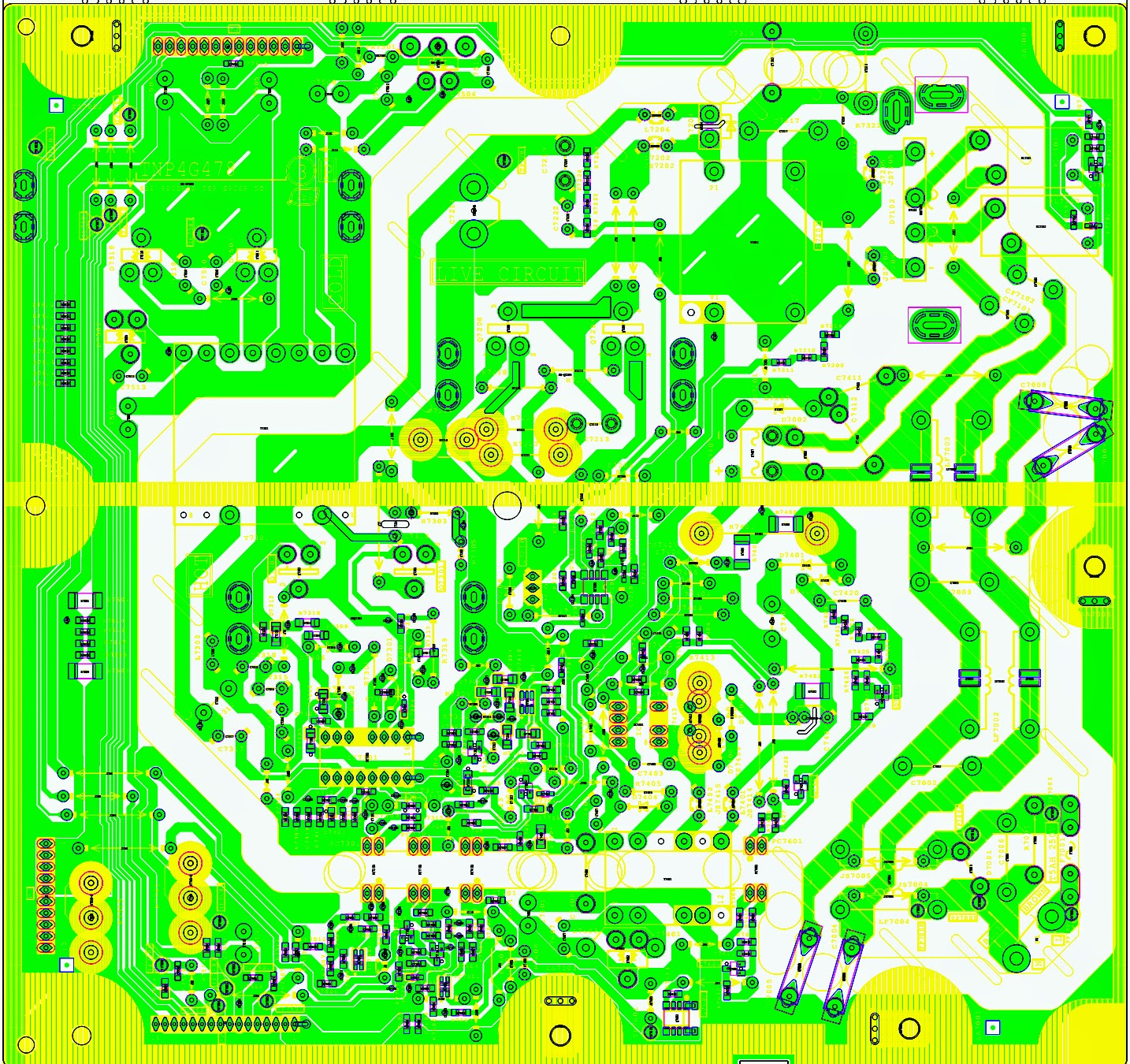 Panasonic Tc L42s20b Lcd Tv Smps Power Supply Schematic Circuit 1200w Amplifier Sanken Electronic View On Large Monitorclick The Pictures To Magnify