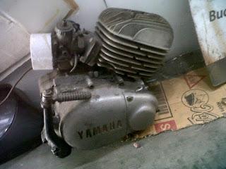 Copotan Mesin Trail Yamaha DT100 - MALANG