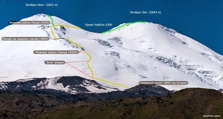 ткань сколько дней займет восхождение на гору эльбрус цена ответы