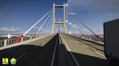 rencana pembangunan jembatan bahteramas
