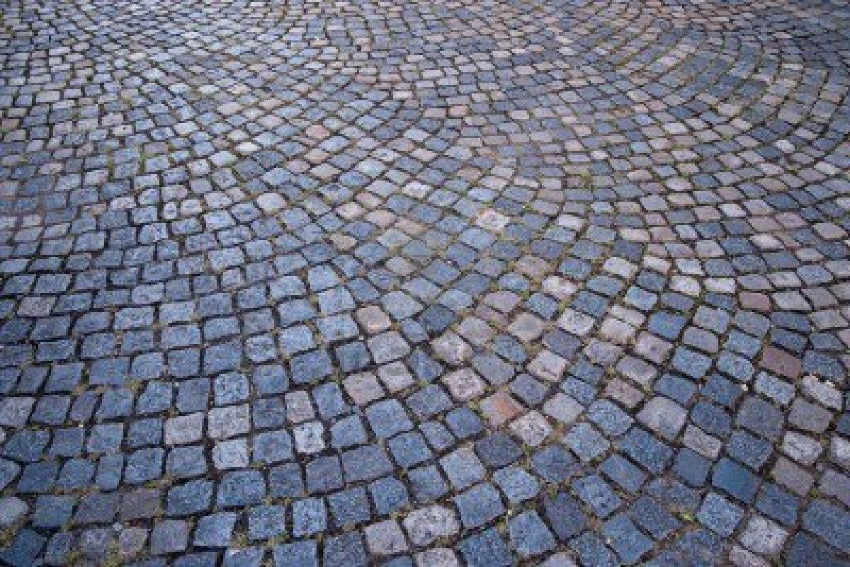 Wallmarks: Roman Cobblestones and High Heels