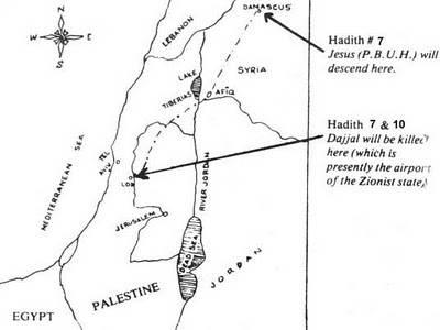 Tempat Dajjal dibunuh oleh Nabi Isa A.s Cerita kedatangan Dajjal